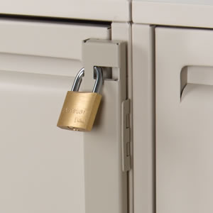 Your paper files are now secure